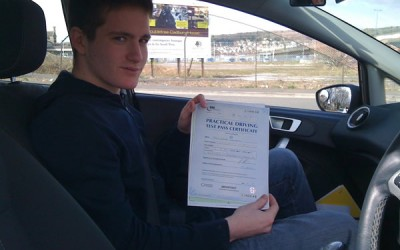 Congratulations to Jaik Newbury from Weston-super-Mare for passing first time!