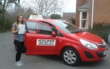 Congratulations to Jenny on passing her test with ZERO faults!
