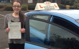 Congratulations to Jessica Woodland from Uphill for passing today with only 1 minor fault!