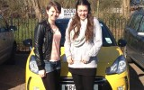 Congratulations to Paige & Rhian for completing the driving element of their BTEC course