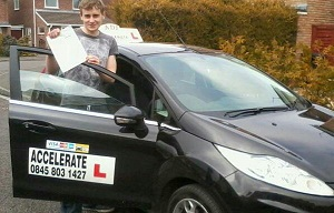 Well Done Josh First time Driving Test Pass