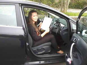 DRIVING TEST PASS WELL DONE LUCY