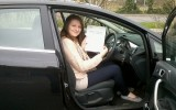 CONGRATULATIONS SARAH DRIVING TEST PASS