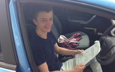 DRIVING TEST 1ST TIME PASS