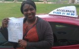 DRIVING TEST SUCCESS WELL DONE CLYCHELLE