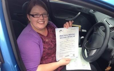 WELL DONE SAMANTHA  DRIVING TEST PASS
