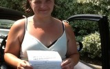 WELL DONE VICTORIA ARIS DRIVING TEST PASS