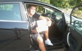 RHY SMITH PASSED HIS DRIVING TEST FIRST TIME