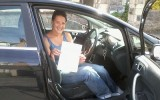 DRIVING TEST PASS WELL DONE SARA