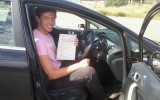 WELL DONE OLIVER DRIVING TEST PASS