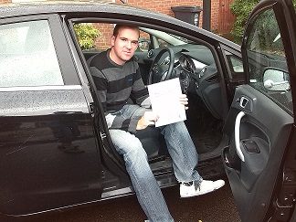 WELL DONE PAUL DRIVING TEST PASS