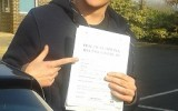 DRIVING TEST SUCCESS FOR CHRIS