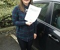 DRIVING TEST PASS WELL DONE TIFF ELLIS