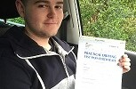 DRIVING TEST PASS WELL DONE JOSH