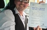 FIRST TIME DRIVING SUCCESS WELL DONE KARL