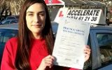 DRIVING TEST SUCCESS WELL DONE JASMINE
